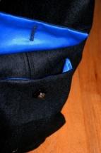 black blue Tasche